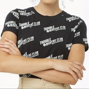 Woman's trendy t shirt